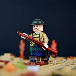 WW1 Scottish Soldier