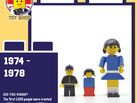 Evolution of the Minifigure