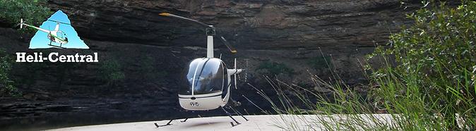 Helicopter, Carnarvon Gorge.