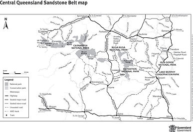 Sandstone Belt National Parks
