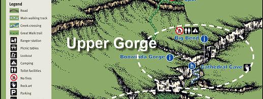 Carnarvon Gorge Map