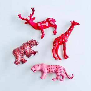 DIY Valentine Animals