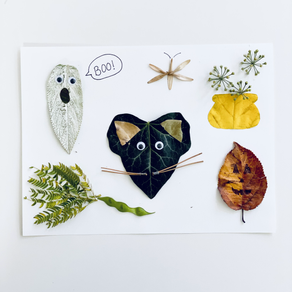 Spooky Leaf Creatures