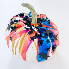 Squeeze Paint Pumpkins