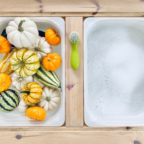 Pumpkin Washing