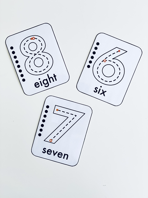 Number Flashcards