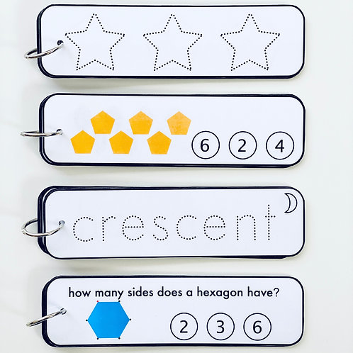 Shapes Activity Strips