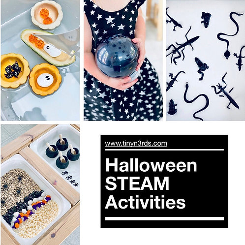 Halloween STEAM Activities