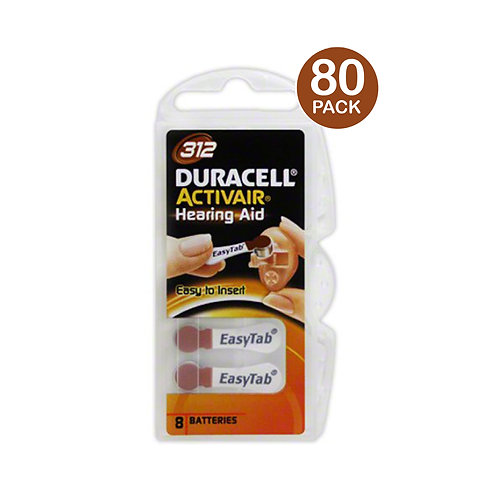 Duracell 312 Batteries