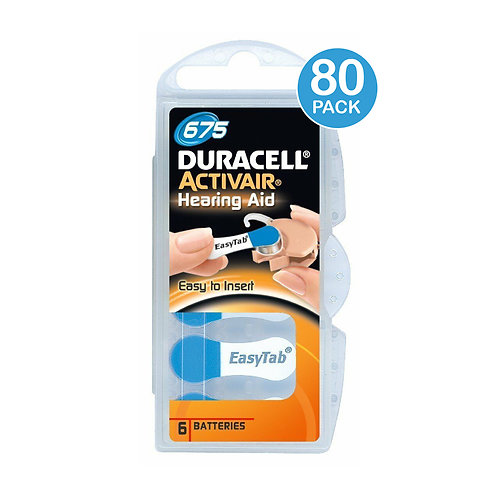 Duracell 675 Batteries