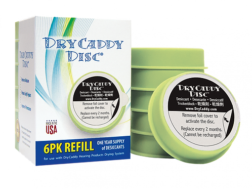 Dry Caddy Disc Refill 6pk