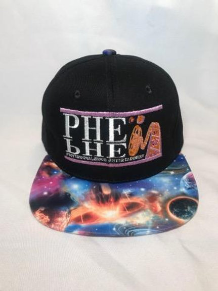 PHE Snap Back Hat- Space Brim 1