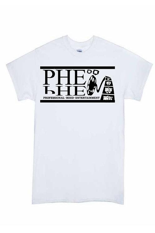 PHE Men's Crew Neck T-shirt- Black Logo