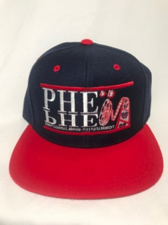 PHE International Edition Snap Back Hat With Patch