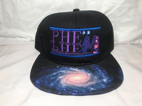 PHE Snap Back Hat Space Brim 4