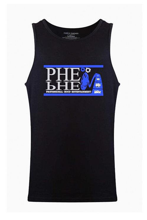 PHE Men's Tank Top Code Blue Edition