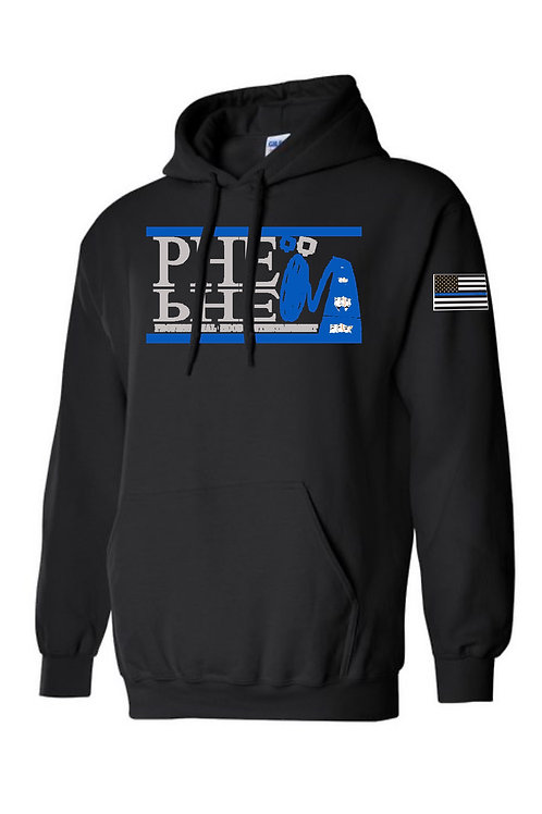 PHE World Hoodie Code Blue