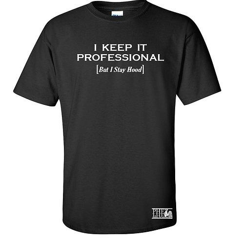 "PHE ""The Movement Series"" Men's Crew Neck KIP T-Shirt- White Logo"