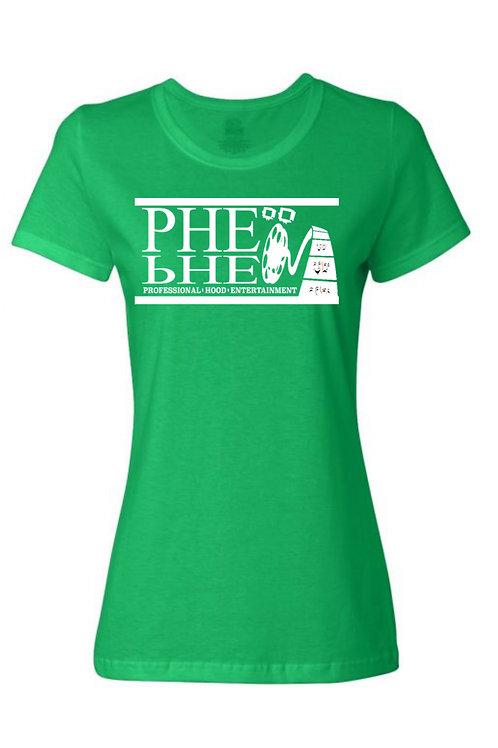 PHE International Edition Women's Crew Neck T-shirt