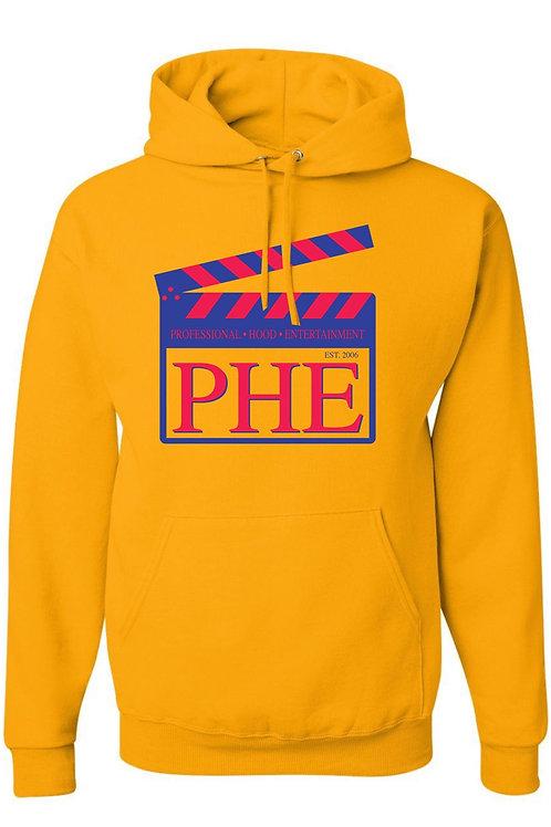 PHE Unisex Hoodie- Est. 2006 Style- Blue/Red Logo
