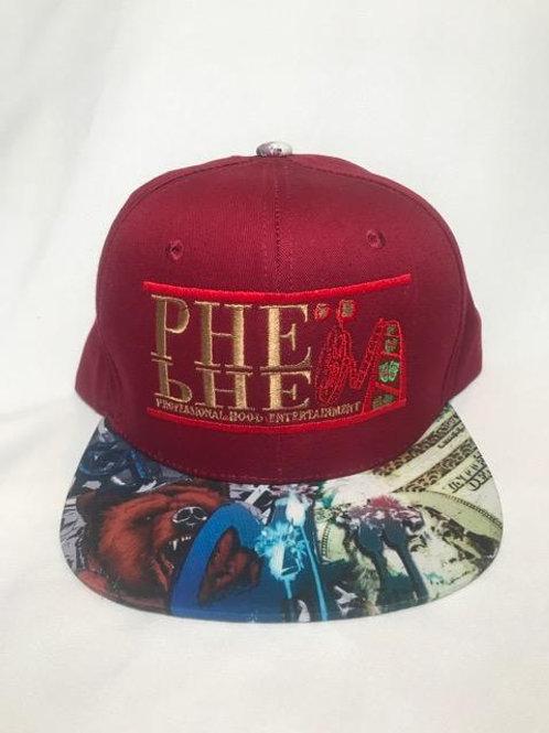 PHE Snap Back Hat- Cali Brim