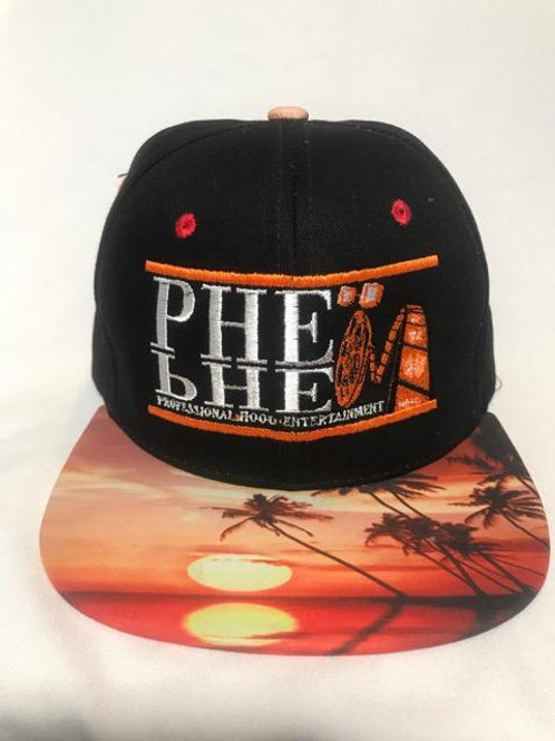 PHE Snap Back Hat Sunset Brim