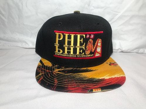 PHE Snap Back Hat Sunset Brim 2