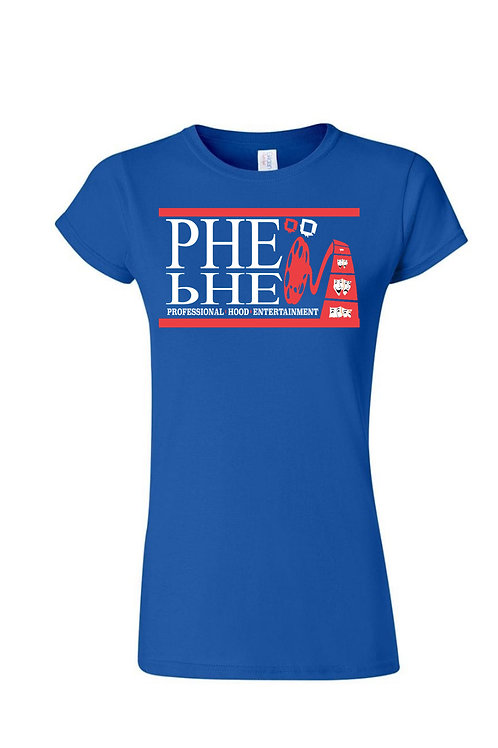 PHE International Edition Women's Crew Neck T-shirt