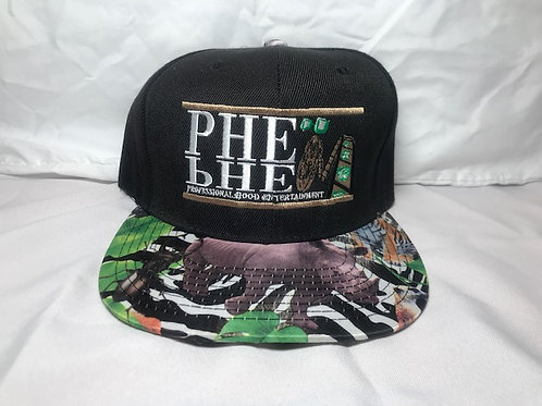 PHE Snap Back Hat Jungle Brim