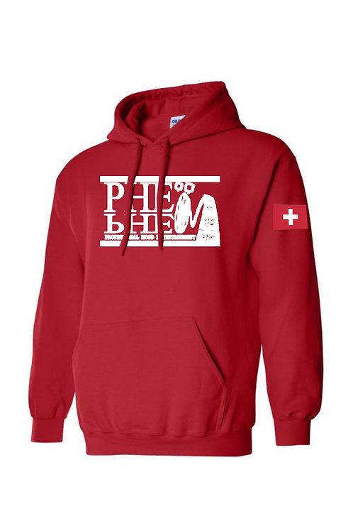 PHE World Hoodie Switzerland
