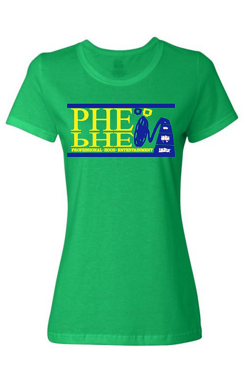 PHE International Women's Crew Neck T-shirt