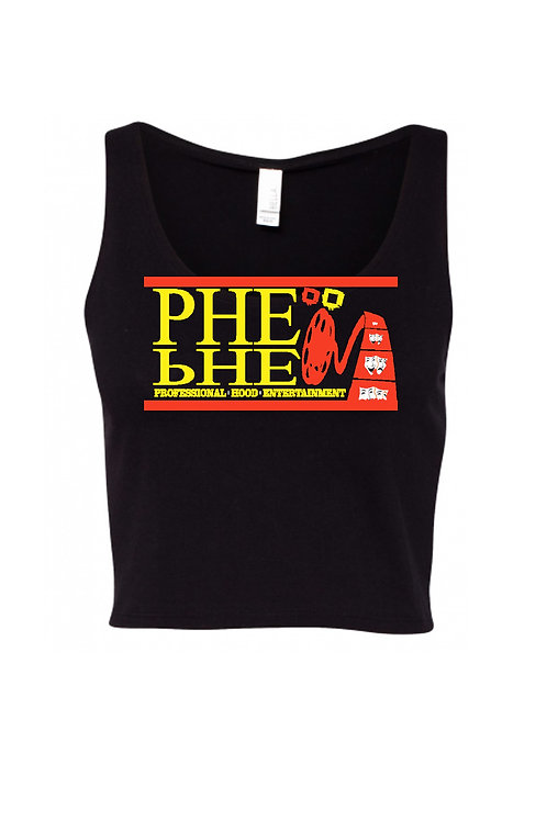 PHE International Edition Women's Crop Top Tank Top