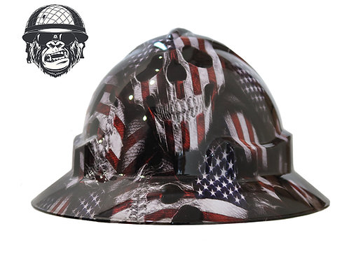 American Skulls Wide