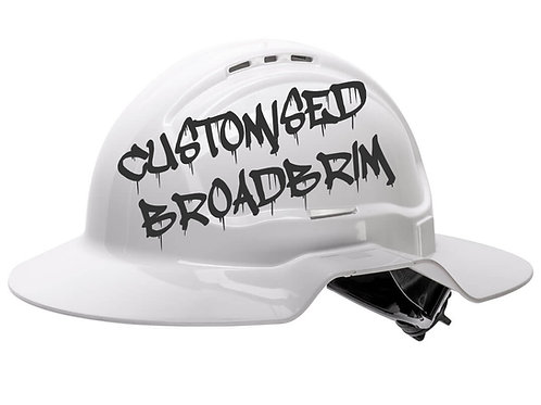 Customise Your Own Broadbrim