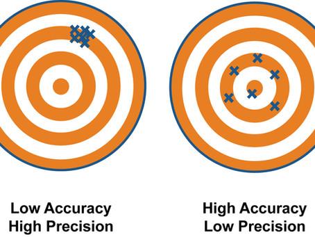 False Sense of Precision