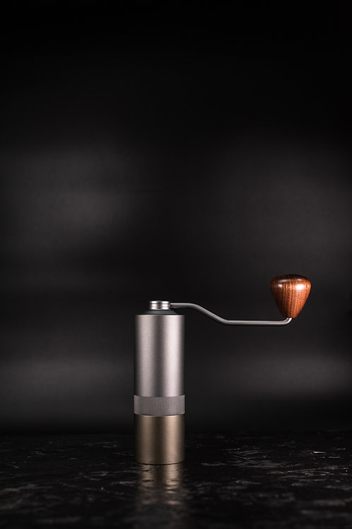 Hand Grinder Small - Silver & Gold