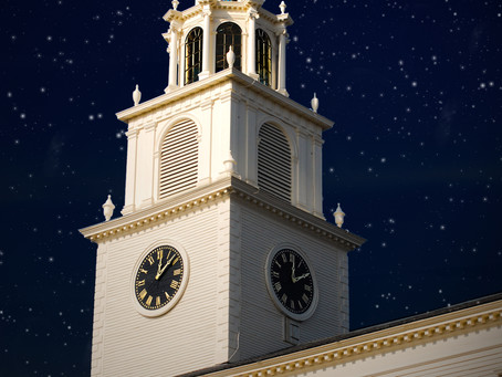 The First Church Clock: A Message of Hope from our Executive Director and Senior Minister
