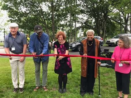 Ribbon Cutting for Memorial to Civil Rights Icon