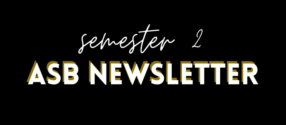 ASB Newsletter!