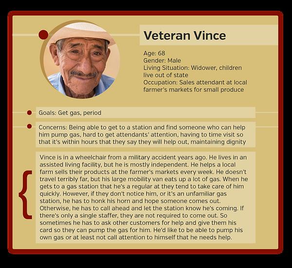 Veteran Vince Persona