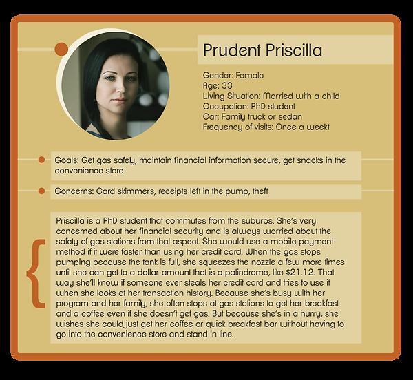 Prudent Priscilla Persona