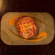 Torta de Maçã (Vegan)