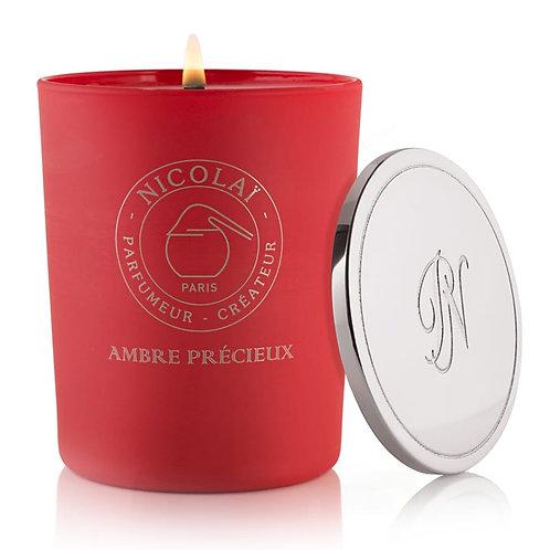 Nicolaï-  AMBRE PRÉCIEUX Intense Scented Candle