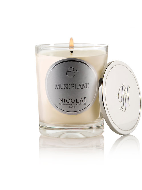 Nicolaï- Musc Blanc Scented Candle
