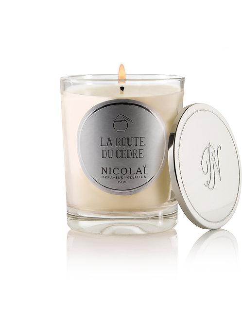 Nicolaï- La Route Du Cedre Scented Candle