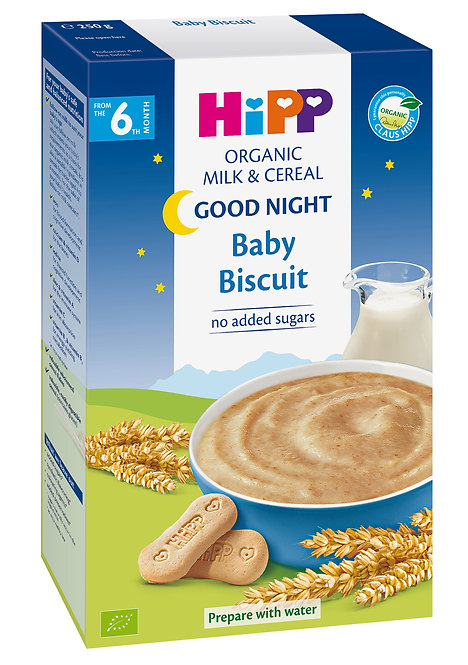 Organic Good Night Baby Biscuit Cereal