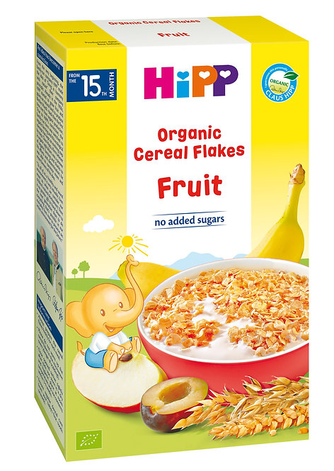 Organic Cereal Flake Fruits 200g