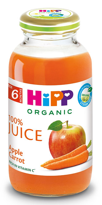 Organic Apple Carrot Juice 200ml