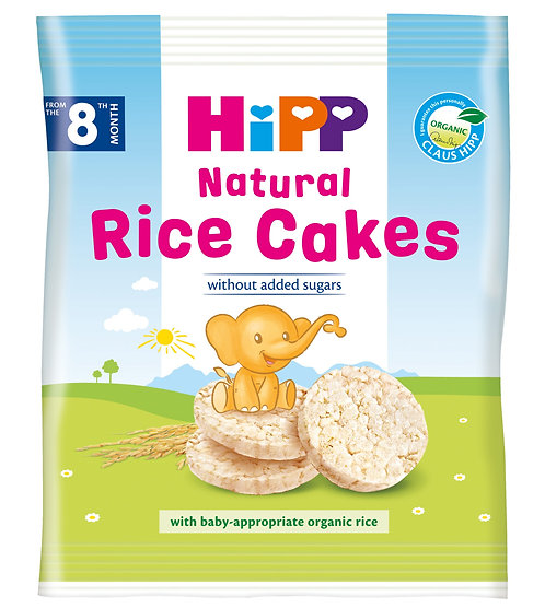 HiPP Organic Rice Cakes for Toddlers