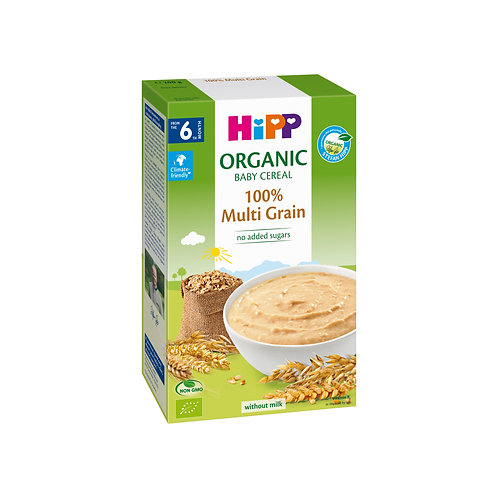 Organic Cereal Pap 100% Multi Grain